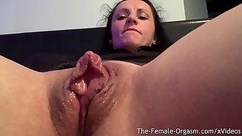 Big Black Clit Fucks Pussy To Squirt